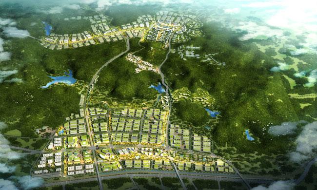 生态城整体鸟瞰