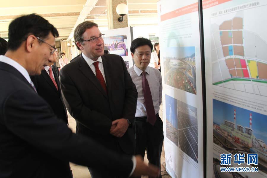 """""""明月行动.绿色中国梦""""图片展在联合国环境署举办"""