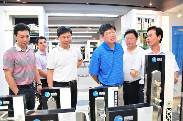 省循环经济工业园中期评估调研组莅临指导