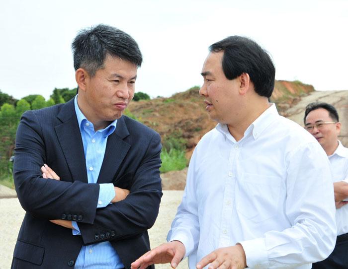 北大光华管理学院院长蔡洪滨第二次莅揭考察调研