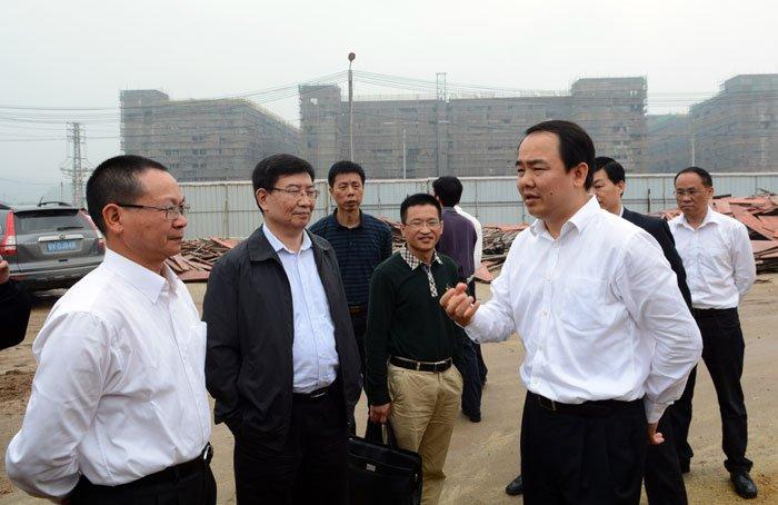 省科技厅厅长黄宁生一行莅揭调研中德电竞博彩app生态城