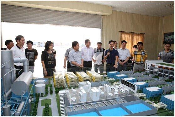 汕头市招商管理局及潮南区人民政府考察团来揭考察