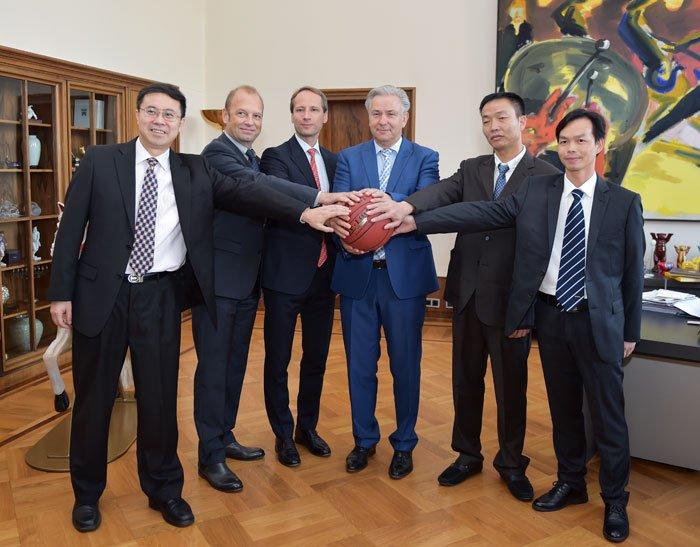 中德电竞博彩app集团成为德国篮球劲旅的主赞助商
